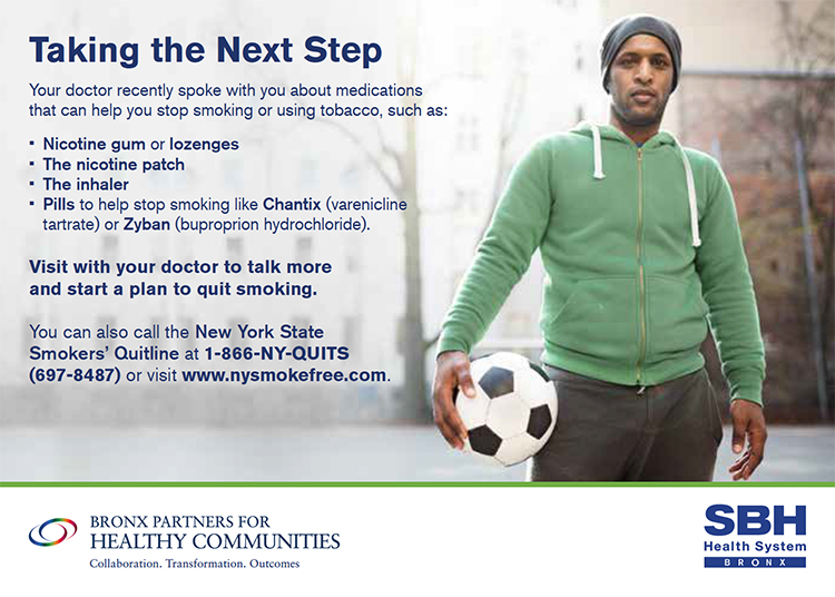 Image of Smoking Cessation Flier in english